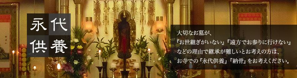 順照寺の永代供養・納骨