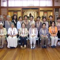 順照寺の佛教婦人会