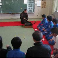 さわらび分教室にて初釜(初茶会)