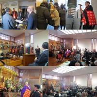 午後4時から、神戸市佛教連合会主催の『阪神・淡路大震災二十五回忌犠牲者追悼法要が、順照寺本堂で厳修されました。